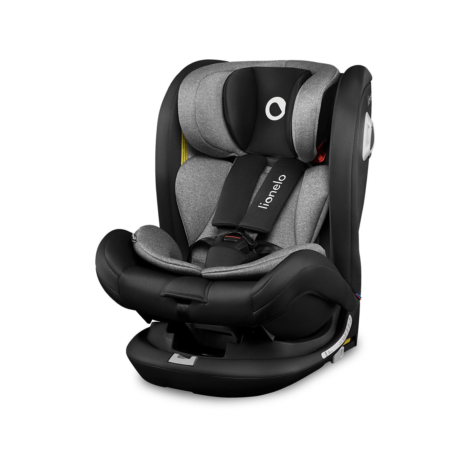 Lionelo Bastiaan RWF Kindersitz Isofix Kindersitz Drehbar um 360 Grad Top Tether